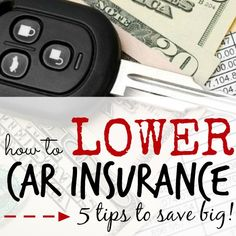 How to lower car insurance- here are 5 tips to lower your car insurance