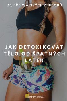 Detoxikace těla je v dnešní době plné škodlivých a toxických látek velmi důležitá! Podívejte se na 11 způsobů, jak můžete detoxikovat tělo. #detox #detoxikace #zdravi Bikinis, Swimwear, Gym Shorts Womens, Health, Coffee, Fashion, Bathing Suits, Kaffee, Moda