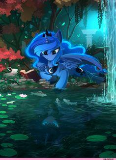Princess Luna,принцесса Луна,royal,my little pony,Мой маленький пони,фэндомы,mlp art,Yakovlev-vad,Яковлев Вадим,artist