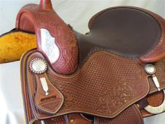 Used Saddle:Bob's Tim McQuay Show Reiner- Image Number:1 Used Saddles, Cowboy Boots, Bob, Number, Image, Bob Cuts, Western Boot, Bob Sleigh, Western Boots