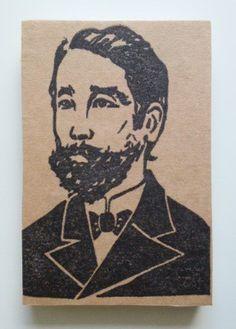 歴史上の人物の消しゴムはんこです。板垣退助(1837〜1919)、自由民権運動の主導者。|ハンドメイド、手作り、手仕事品の通販・販売・購入ならCreema。