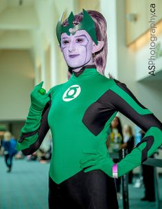 Queen Iolande from Green Lantern: The Animated Series | SDCC 2013, Photo by andreas schneider #costumes #cosplay