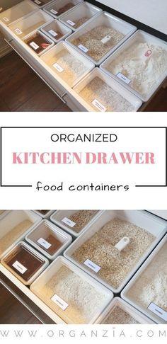 Organized #kitchen drawer, finally!