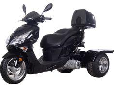 Icebear 150cc Hawk Trike Metallic Black