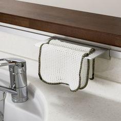 キッチンハンガーシステム2 6種のアクセで水周りをカスタマイズ Kitchen, Image, Quartos, Cuisine, Kitchens, Stove, Cucina