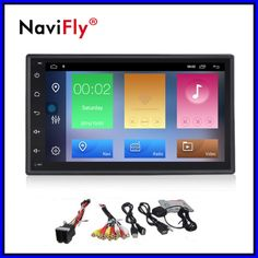 Hot NaviFly universal 2 Din 2G32G Android 9.1 Car Radio GPS Navigation for Nissan/Toyota/VW/Kia Quad Core 1024600 HD 7708IC WIFI 2020 Cheap Car Audio, Android 9, Gps Navigation, Multimedia, Quad, Nissan, Wifi, Vw, Toyota