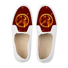 Hunger Games MockingJay Shoes #TheHungerGames #Mockingjay several designs available $33.59