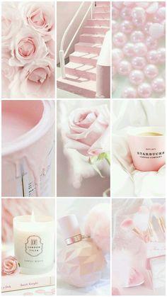 Aesthetic Pastel Wallpaper, Pink Wallpaper, Aesthetic Wallpapers, Cute Backgrounds, Cute Wallpapers, Pretty Pastel, Pastel Pink, Princess Aesthetic, Aesthetic Collage