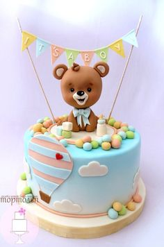 sweet bear cake