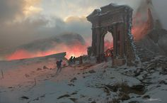 ArtStation - Hell Gate, Erikas Perl