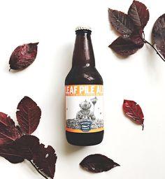 Leaf Pile Ale Beer Photography