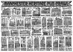 Manchester Heritage Pub Crawl  (Manchester, England) Where Dad & Mom met, back in the day...
