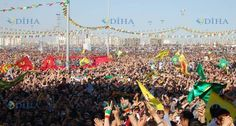 Yasaklara rağmen milyonlaşan Newrozlar!