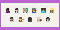 Unicode aprobó los emoticons de mujeres profesionales - http://j.mp/29Ly1C1 - #Emojis, #Google, #Mujeres, #Noticias, #Sobresalientes, #Tecnología, #Unicode