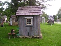 """I restored a delapidated out house into what I call """"The Sanctuary"""" for a Prayer Garden."""