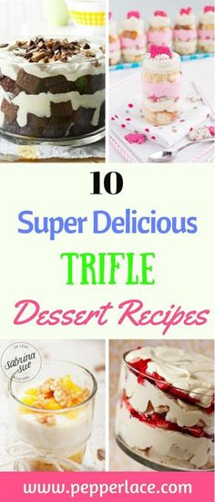 10 Super Delicious Trifle Recipes | Pepperlace