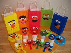 Easy to make with Cricut or paper piecing by hand Sesame Street