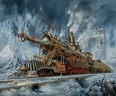 03-Jarosław-Jaśnikowski-Surreal-Paintings-of-Fantastic-Realism-www-designstack-co.jpeg (500×413)
