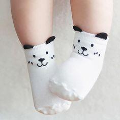 Cute Baby Infant Socks Cotton Warm Soft Kids Ankle Comfy Newborn Lace Non-slip