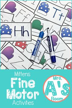 Fine motor skills are so important in preschool and kindergarten! It's easy to integrate them throughout your day with lots of math and literacy thrown in too! These ideas will give you lots of activities you can use in busy boxes or centers during your m Kindergarten Themes, Preschool Centers, Preschool Writing, Preschool Themes, Preschool Lessons, Classroom Activities, Preschool Activities, Winter Activities, Classroom Ideas