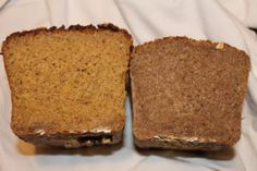 Lupinenmehl macht Brote gelb [:  #Lupine