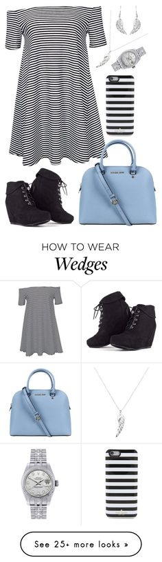 """""""I'm Sorry I Look Good"""" by coronado-2-do on Polyvore featuring Glamorous, Michael Kors, Rolex and Kate Spade"""
