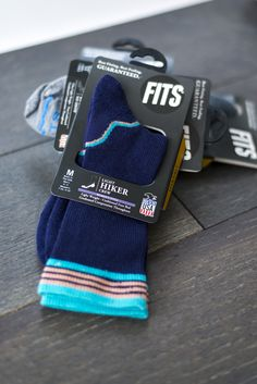 These maaaay just be the most comfortable socks I've ever worn, and these guys will definitely keep you motivated on your morning run or afternoon hike!