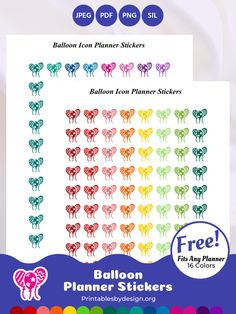 Planner Sticker Categories – Printables by Design Arc Planner, Planner Pages, Life Planner, Happy Planner, Planner Ideas, Printable Planner Stickers, Free Printables, Planning And Organizing, Cat Stickers