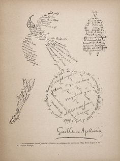 Guillaume_Apollinaire,_Poème_Calligramme.jpg (1239×1659)