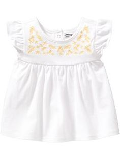 Embroidered Jersey Tops for Baby | Old Navy