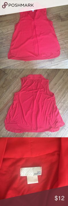 14th & Union Pink V-Neck Blouse 14th & Union Pink V-Neck Blouse - excellent condition. 14th & Union Tops Blouses