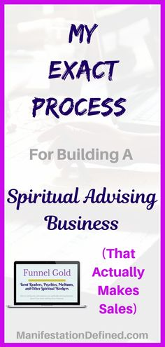 Learn how to grow your psychic advising business with online marketing. Spiritual Advisor, Spiritual Practices, Psychic Development, Law Of Attraction Tips, Tarot Spreads, Tarot Readers, Creating A Business, Instant Access, Psychic Abilities