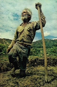 114 year old man. Published in National Geographic in the 70's.