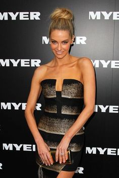 Jennifer Hawkins - Myer A/W 2013 Collections Launch - Arrivals