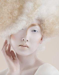 Maya Luz for Culture Magazine asian model background high fashion avant garde haute couture High Fashion Photography, Beauty Photography, Makeup Art, Hair Makeup, Maya, Eyeliner, Avantgarde, High Fashion Makeup, Portraits