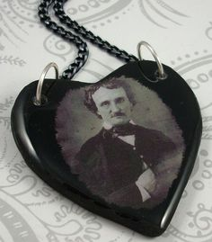 Edgar Allan Poe Pendant!