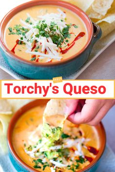 To Make Torchy's Queso Torchy's Queso Recipe is one of the most famous and celebrated queso recipes in the southwest! Get the top secret recipe now! Carnitas, Barbacoa, Torchys Queso Recipe, Queso Con Carne Recipe, Carne Asada, Tamales, Tostadas, Gourmet, Sauces