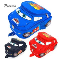 https://www.i-sabuy.com/ เด็กSchoolBagsรถเข็นกระเป๋าเป้สะพายหลัง3Dพิมพ์รถยนต์กันน้ำMochila E Scolar