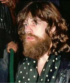 Mick Jagger during filming in Australia of Ned Kelly 1969