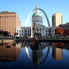 Jefferson National Expansion Memorial, St. Louis, Missouri..:)
