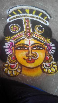 Easy Rangoli Designs Diwali, Rangoli Ideas, Beautiful Rangoli Designs, Kolam Designs, Simple Rangoli, Pencil Art, Pencil Drawings, Rangoli Designs For Competition, Padi Kolam