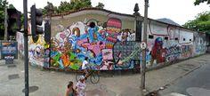 The Legalization of Street Art in Rio de Janeiro, Brazil « Untapped Cities Urban Fabric, Social Art, Art Story, Street Artists, Public Art, Cities, Fair Grounds, Scene, Nyc