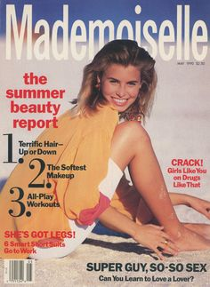 Niki Taylor for Mademoiselle May 1990