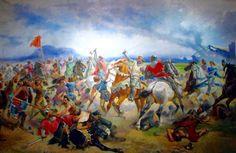 Batalla de Lluchmayor (1349). La derrota de Jaime III rey de Mallorca, a manos de Pedro IV de Aragón ayudado por los genoveses supone la definitiva incorporación del Reino de Mallorca a la Corona de Aragón. Jaime III morirá en la batalla y su hijo Jaime IV será encarcelado.
