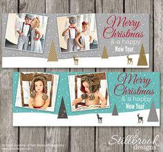 Christmas Facebook Timeline - Holiday Cover Photo Template - Facebook Banner Timeline Design - TC17
