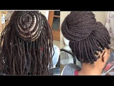 DIY : CROCHET BRAID , FREETRESS DEEP TWIST - YouTube
