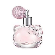 You're sure to feel sweet and fancy with this pretty perfume. Made with some of Hello Kitty's favorite things, its notes of green apple and Japanese fruits will make you smile inside. As the fragrance's heart comes forward, you'll smell rich floral a