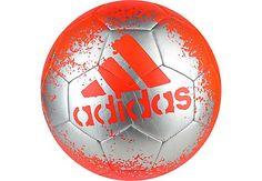 adidas X Glider II Soccer Ball - Solar Red & Silver Metallic | SoccerMaster.com