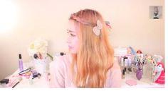 3 Simple Hairstyles, Korean Hair Style, Hair tutorial