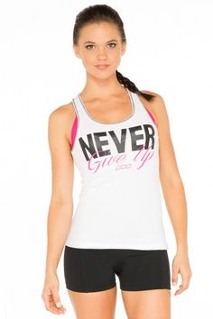 Never Give Up Tank xx